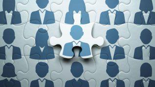 Concept image showing puzzle pieces