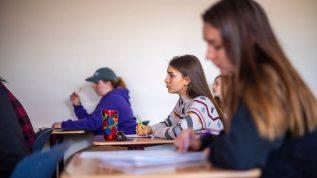 Classroom shot