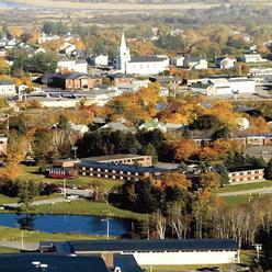 Machias Aerial view