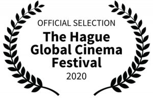 An official selection seal from The Hague Global Cinema Festival 2020