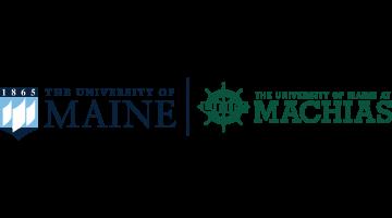 UMaine and UMM logos