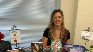 Heather McCollum at a book signing
