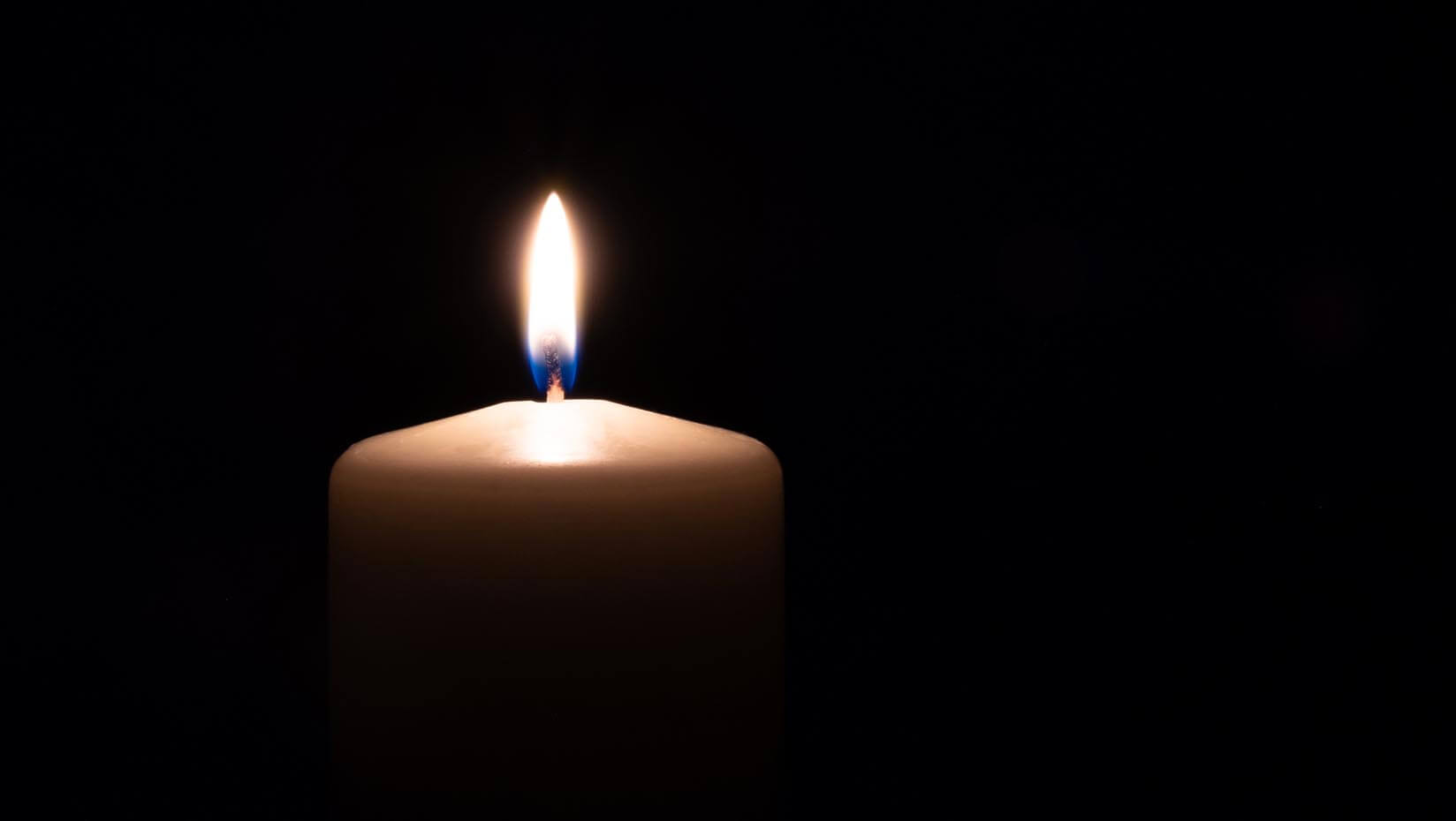 stock photo of a candle