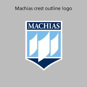 Machias crest outline logo